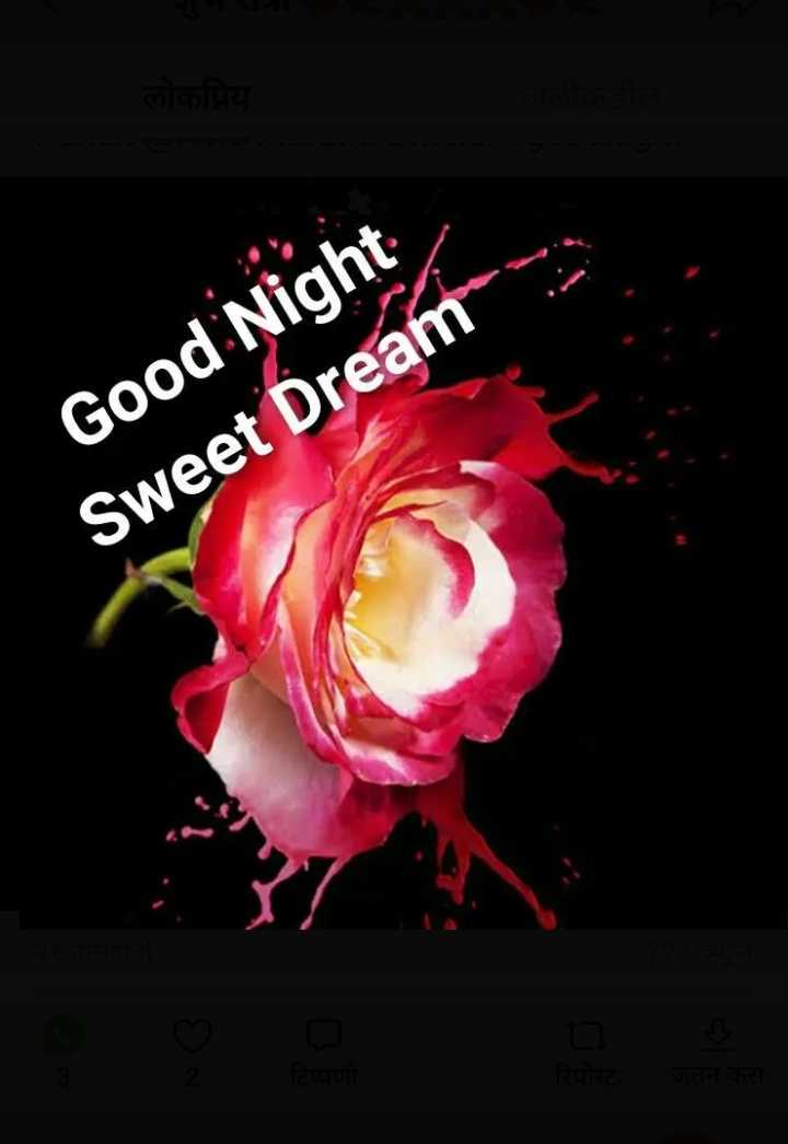 😴शुभ रात्री - Good Night Sweet Dream - ShareChat