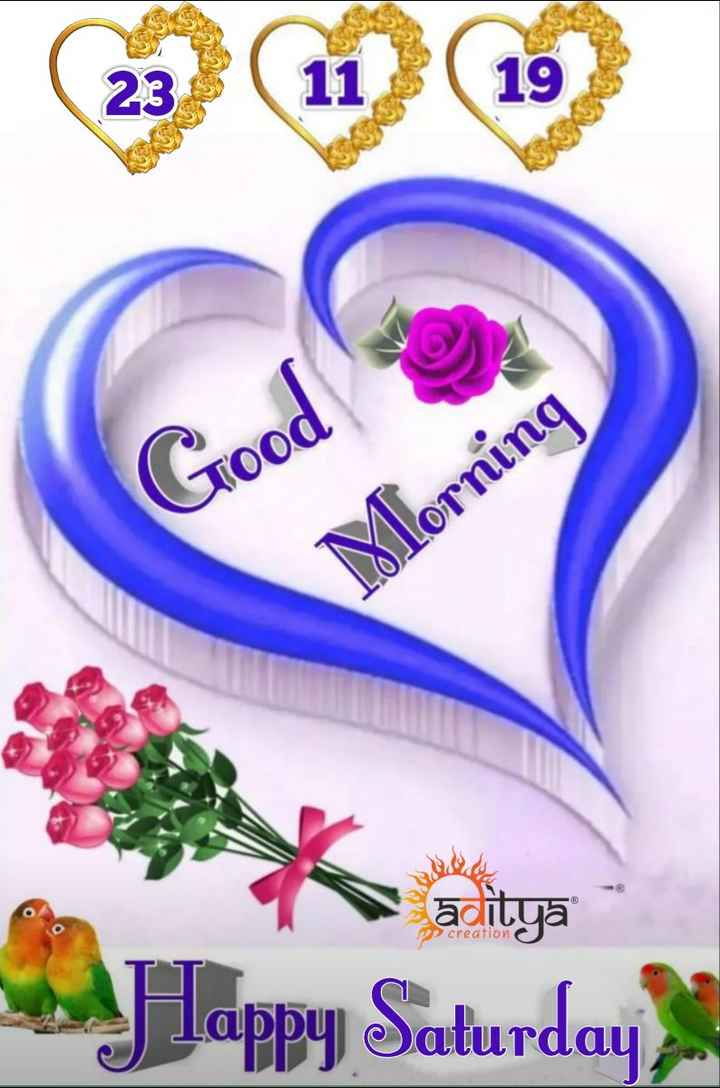 🌷शुभ शनिवार - Good Morning PP creation y lappy Saturday - ShareChat