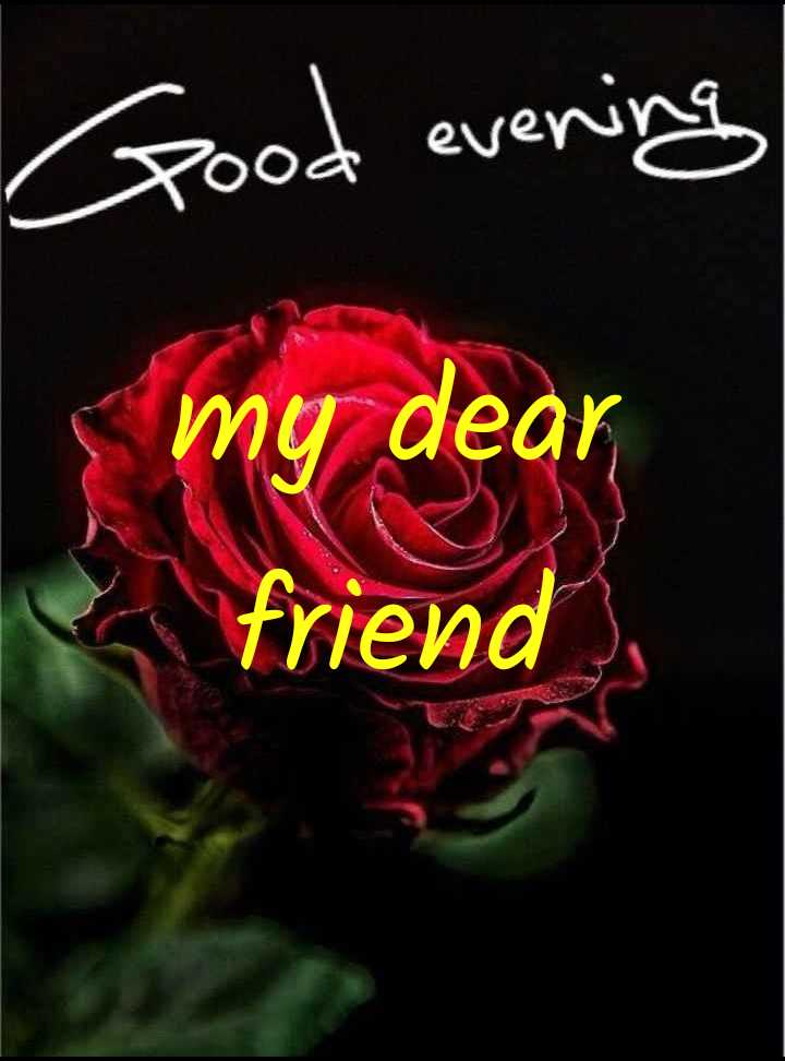 🌜 शुभ संध्या🙏 - Good evening my dear friend - ShareChat
