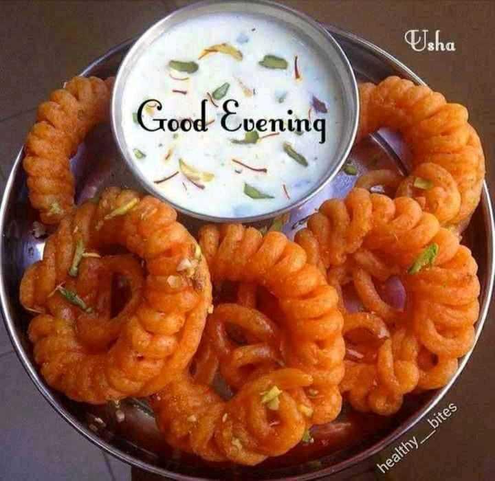 🌜 शुभ संध्या🙏 - Isha Good Evening healthy _ bites - ShareChat