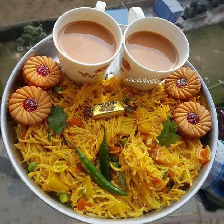 🌜शुभ संध्या - @ foodtalknoida Bliss - ShareChat