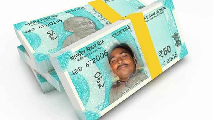 शुभ सोमवार - पचास IVE BANK OF INDIA IN ONE ONE भारतीय रिजर्व बैंक 4BD 672026 पचास रुपये भारतीय रिज़र्व बैंक केन्द्रीय सरकार द्वारा प्रत्याभूत ₹50 672006 4BD 672006 महात्मा गांधीMAHATMA GANDH - ShareChat