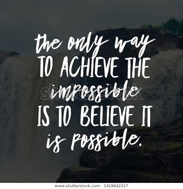🖋 शेयरचैट Quotes - the only way TO ACHIEVE THE simpossible IS TO BELIEVE IT is possible . www . shutterstock . com · 1419042317 - ShareChat