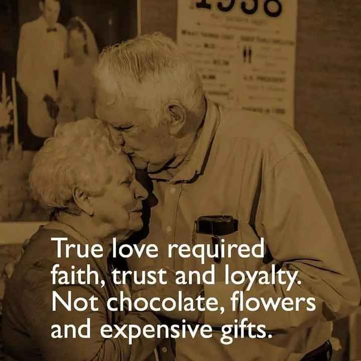 🖋 शेयरचैट Quotes - True love required faith , trust and loyalty . Not chocolate , flowers and expensive gifts . - ShareChat
