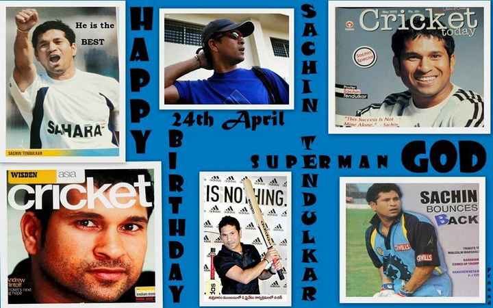 🎂 सचिन तेंदुलकर बर्थडे - He is the - Cricket today BEST Pogler Sachin Tendulkar 24th April This Success Is Not Mine Alone . Sachin SAYARA SACHIN TENDULKAR ER MA WISDEN asia IS NON SACHIN BOUNCES BACK TOPIDO MILLS RE MALCOLM MARSHAD MILLS COMES UP TRUMP Andrew intoff das TORS next ran శుక్రవారని ముంబయిలో ఓ ప్రైవేటు కార్యక్రమంలో నటిస్ - ShareChat