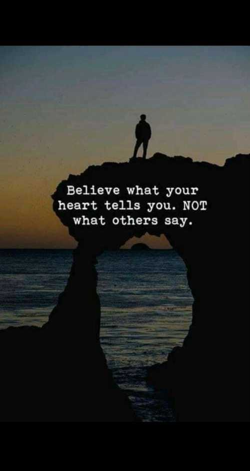 🎤सबसे बड़ा khabri कौन - Believe what your heart tells you . NOT what others say . - ShareChat