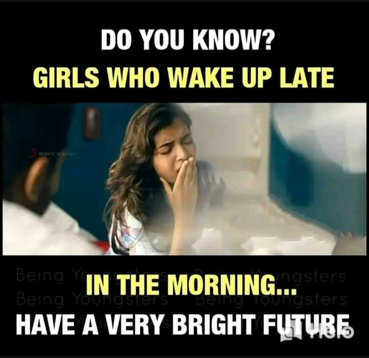 📰 समाचार एवं न्यूज़ पेपर क्लिप - DO YOU KNOW ? GIRLS WHO WAKE UP LATE BONY M 19 IN THE MORNING . . . SI Being You HAVE A VERY BRIGHT FUTUBE Toungsters - ShareChat