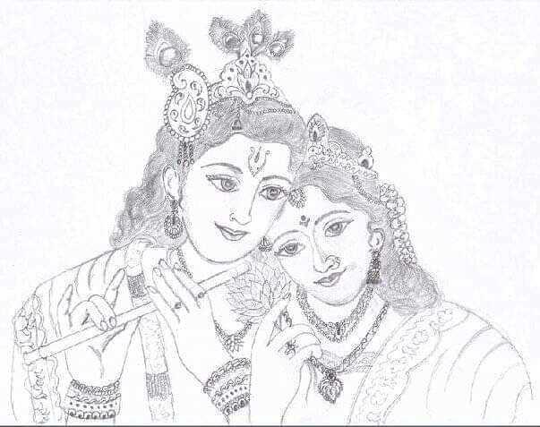 🖋 साहित्य शीर्षक - कृष्ण - ShareChat