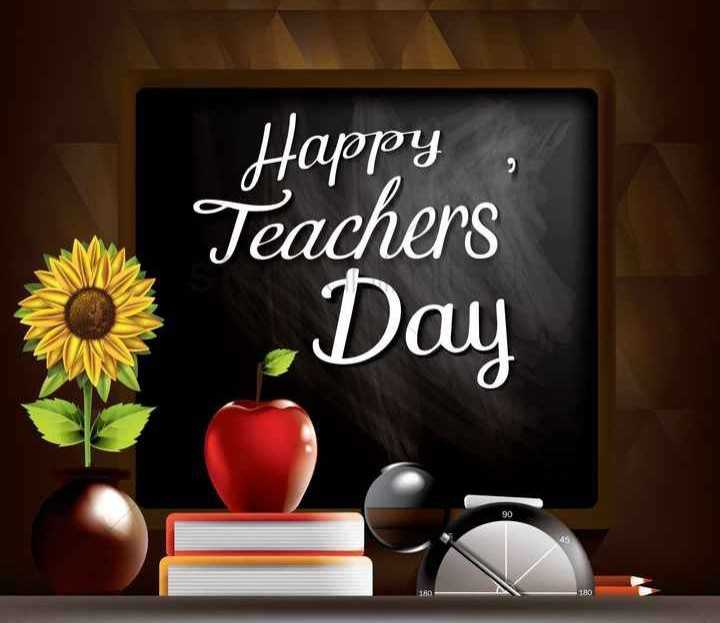 🎙 साहित्य शीर्षक - शिक्षक - Happy , Teachers , Day - ShareChat