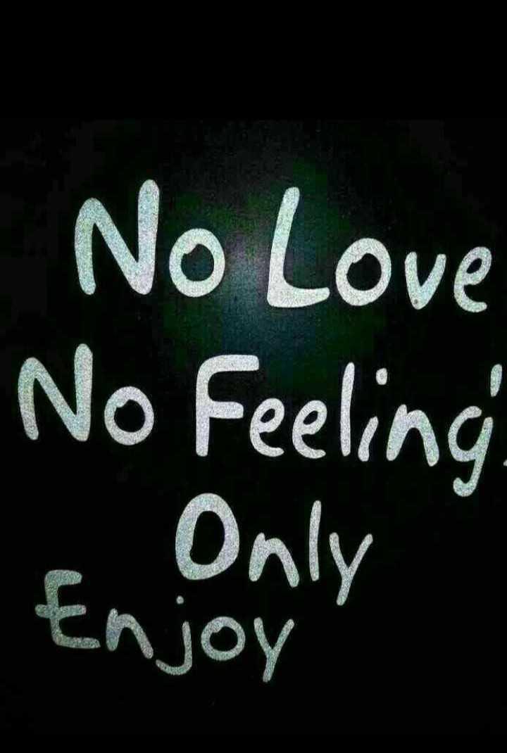🕴सिंगल लाइफ बेस्ट लाइफ - No Love No Feeling e Only Enjoy - ShareChat