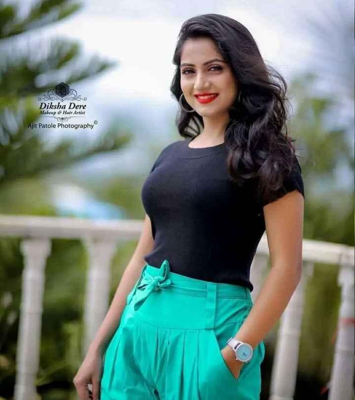 🎞सिने स्टार्स - Diksha Dere Makeup & Hair Artist PC 90 Ajit Patole Photography - ShareChat