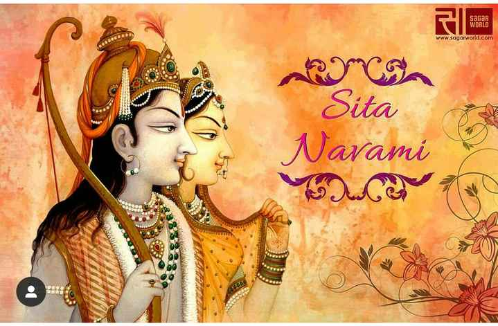 🙏 सीता नवमीं - sagar WORLD www . sagarworld . com go Sita Navami - ShareChat