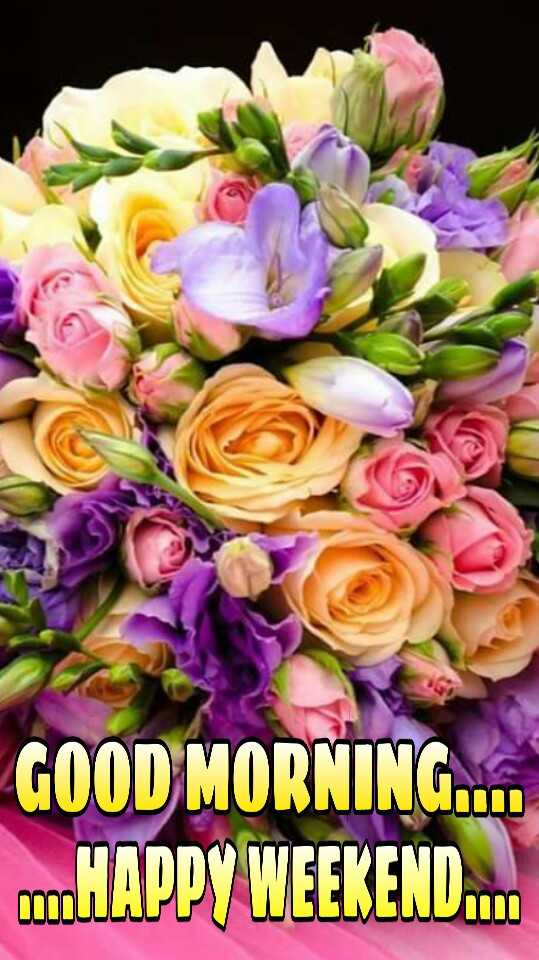 🌄सुप्रभात - GOOD MORNING . . . . HAPPY WEEKEND . . . - ShareChat
