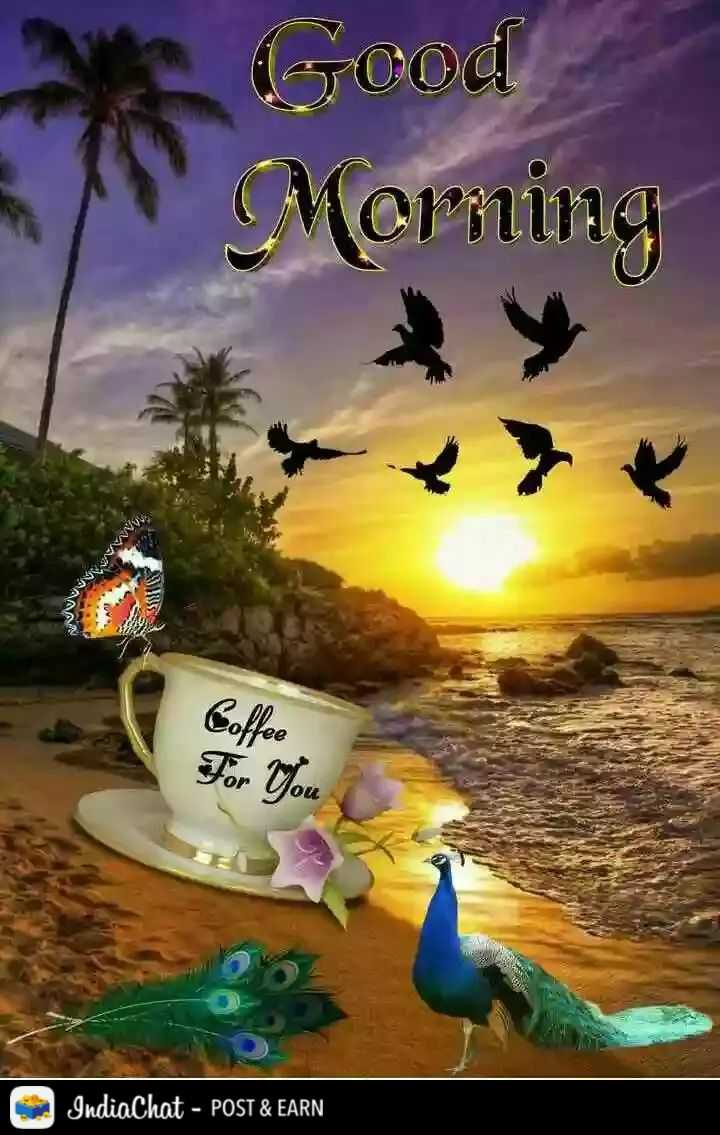 🌄  सुप्रभात - Good Morning Coffee For You IndiaChat - POST & EARN - ShareChat