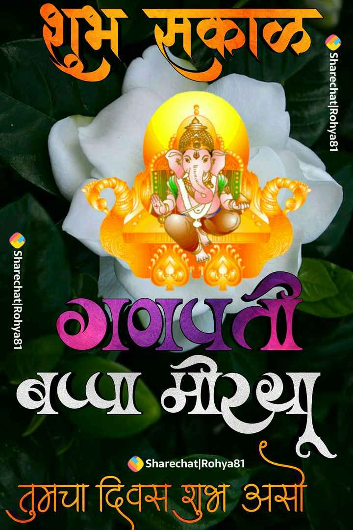 🌄सुप्रभात - शुभ सकाळ , Sharechat | Rohya81 L Sharechat | Rohya81 | Ci GCI था तुजचा दिवस शुभ असा Sharechat | Rohyasi e a Sharechat | Rohya81 - ShareChat