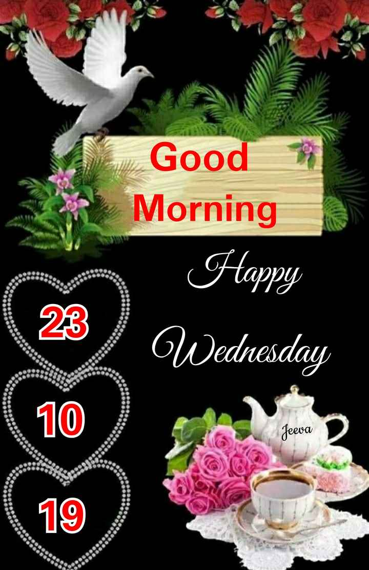 🌞 सुप्रभात 🌞 - Good Morning Happy Wednesday 009 00 be 23 SOSOS OOO 10 Jeeva 90 19 00000 0 - ShareChat