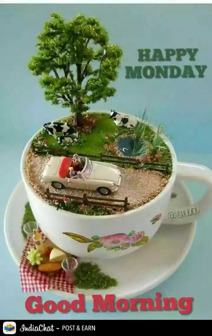🌄  सुप्रभात - HAPPY MONDAY Good Morning IndiaChat - POST & EARN - ShareChat