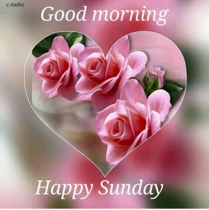 🌄सुप्रभात - c . maha Good morning Happy Sunday - ShareChat