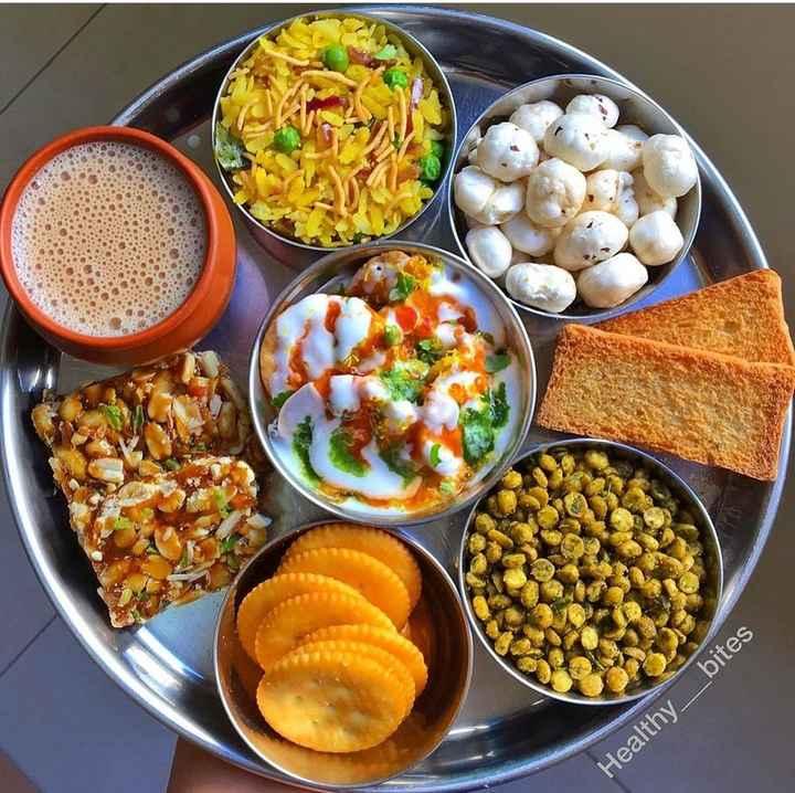 ⛱सुबह का नाश्ता - Healthy _ bites - ShareChat