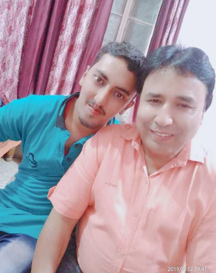 🤳सेल्फी विथ माय पापा - 2019 . 05 . 12 19 . 41 - ShareChat