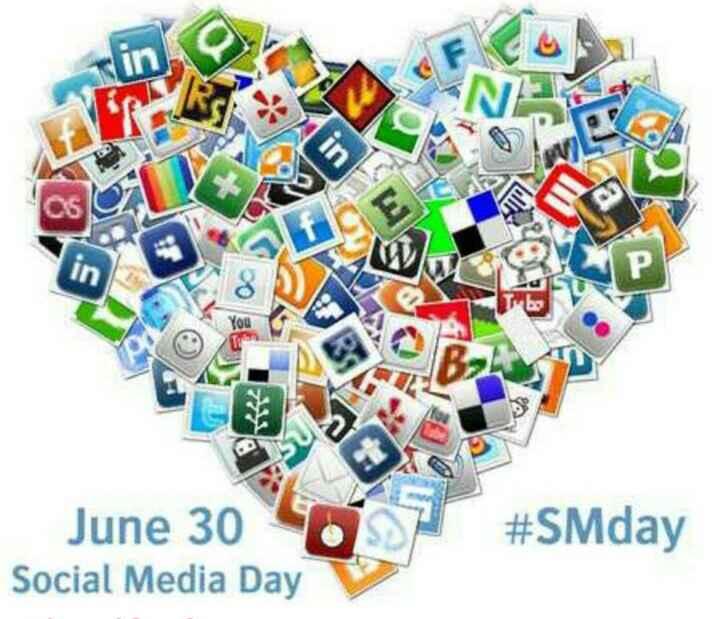 सोशल मीडिया दिवस - You > June 30 Social Media Day # SMday - ShareChat