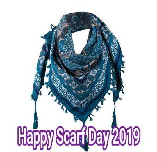 🎀 स्कार्फ़ डे - 2 2 Happy Scarf Day 2019 - ShareChat