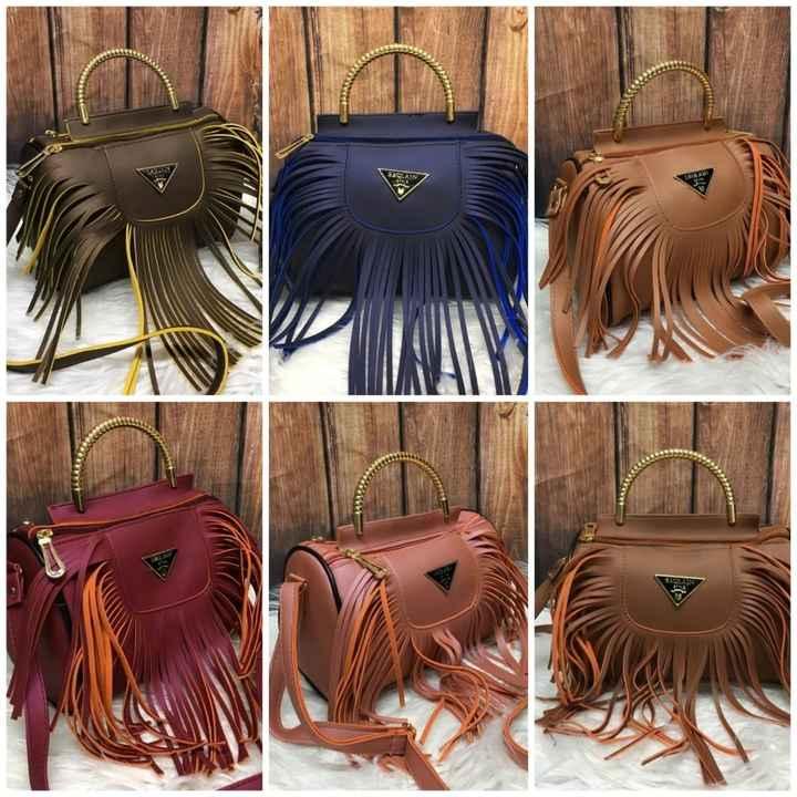 स्टाईलिश बॅग/पर्स👜 - SAGLAN - ShareChat