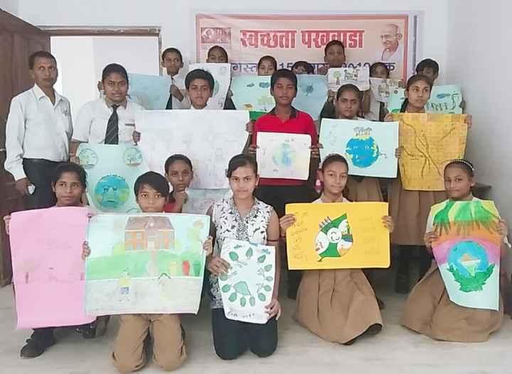 स्वच्छ भारत - स्वच्छता परतवाडा गस्त 17 - ShareChat