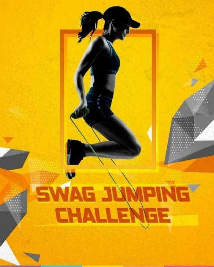 🤘स्वॅग जम्प चॅलेंज - SWAG JUMPING CHALLENGE - ShareChat