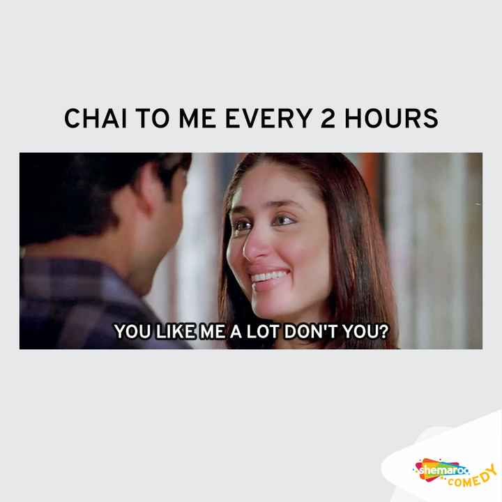 😄 हंसिये और हंसाइए 😃 - CHAL TO ME EVERY 2 HOURS YOU LIKE ME A LOT DON ' T YOU ? shemaroo . ot COME - ShareChat