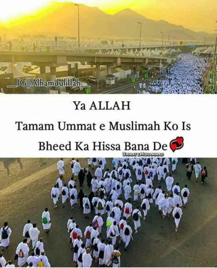 🕋हज 🕋 - LIG | | Alhamdulillah Ya ALLAH Tamam Ummat e Muslimah Ko Is Bheed Ka Hissa Bana De UMMAS : MUHAMMAD - ShareChat