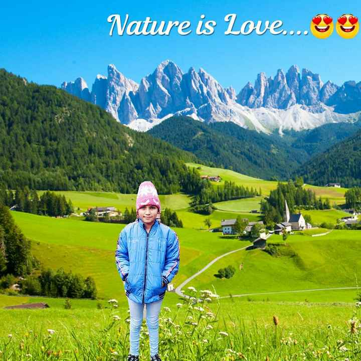 🌲हरी भरी घास - Nature is Love . . . . s DISSE - ShareChat