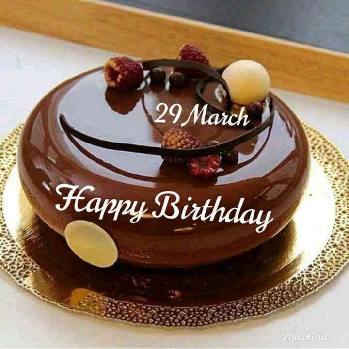 🎂हॅपी बर्थडे - 29 March Happy Birthday PhotoGrid - ShareChat
