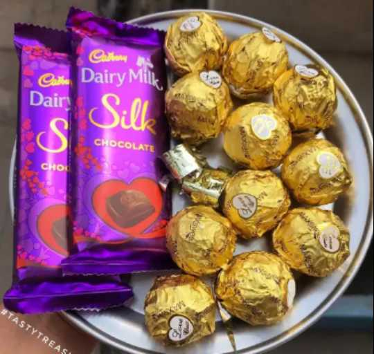 🥑हेल्दी फूड - Cadbury Carte Dairy Milk Daire . CHOCOLATE Ясно SA # TASTYTREAS - ShareChat
