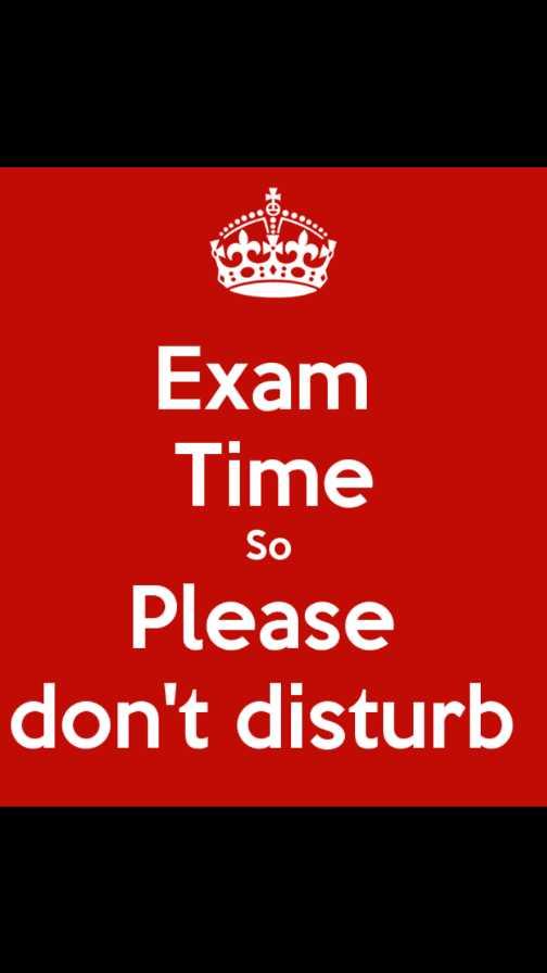 😔हैप्पी कन्फेशन डे - Exam Time So Please don ' t disturb - ShareChat