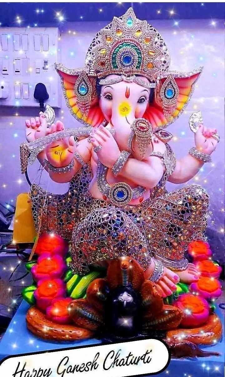 💐हैप्पी गणेश चतुर्थी - CULO Harbu Ganesh Chaturti - ShareChat