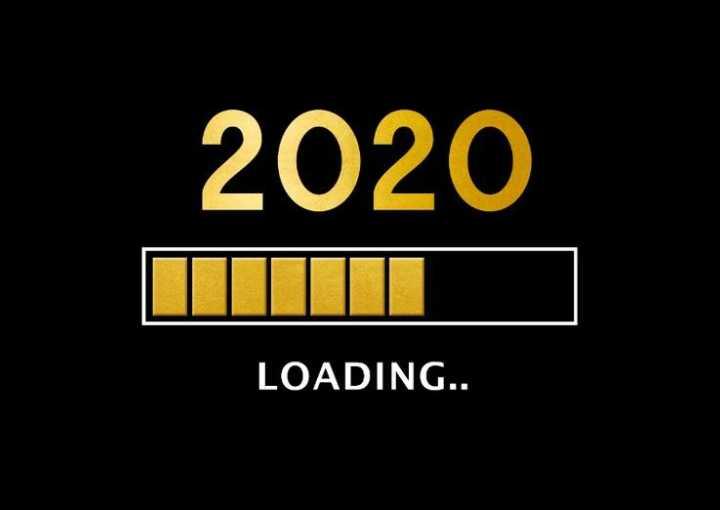 🎉 हैप्पी न्यू ईयर 2020 - 2020 LOADING . . - ShareChat