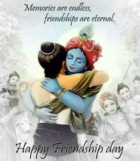 👭हैप्पी फ्रेंडशिप डे - Memories are endless , friendships are eternal . Happy Friendship day - ShareChat