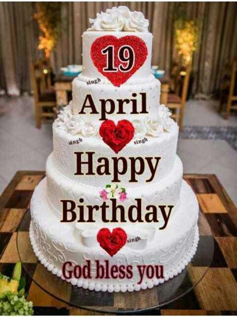 🎂हैप्पी बर्थडे अरशद वारसी - 19 April singh singh singh Happy Birthday God bless you 58 - ShareChat