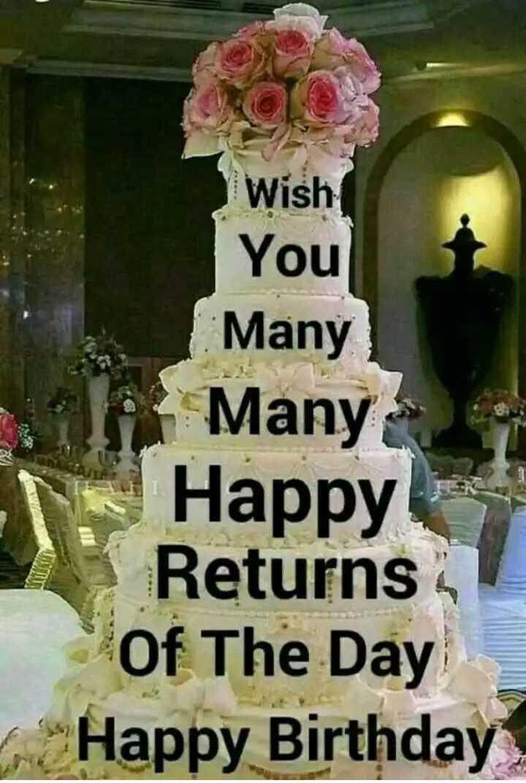 🎂 हैप्पी बर्थडे अविका गौर - Wish You Many Many Happy Returns Of The Day Happy Birthday - ShareChat