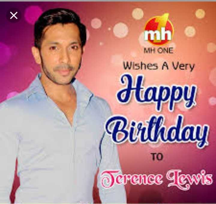 🎂हैप्पी बर्थडे टेरेंस लुईस - mi MH ONE Wishes A Very appy Birthday TO Jerence Tewis - ShareChat