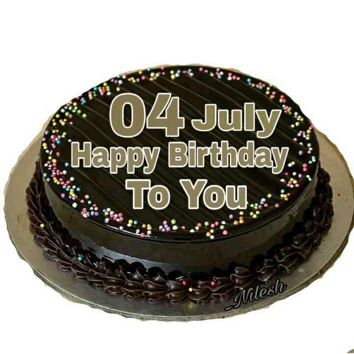 🎂 हैप्पी बर्थडे तोशी साबरी - 04 July Happy Birthday To You * 00 ſvilesh - ShareChat