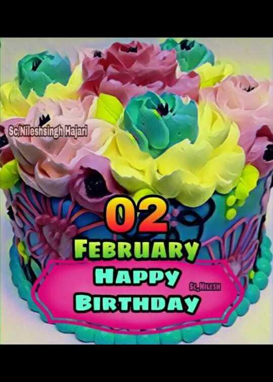 🎂हैप्पी बर्थडे दिनेश लाल यादव - Sc / Nileshsingh Majari FEBRUARY HAPPY BIRTHDAY SC - NTLESN - ShareChat