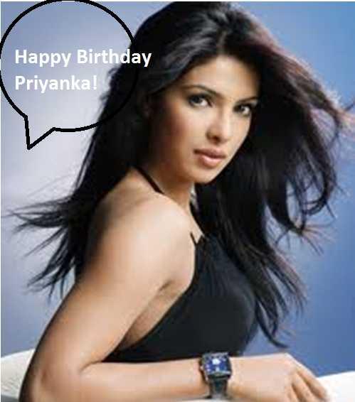🎂 हैप्पी बर्थडे प्रियंका चोपड़ा - Happy Birthday Priyanka ! - ShareChat