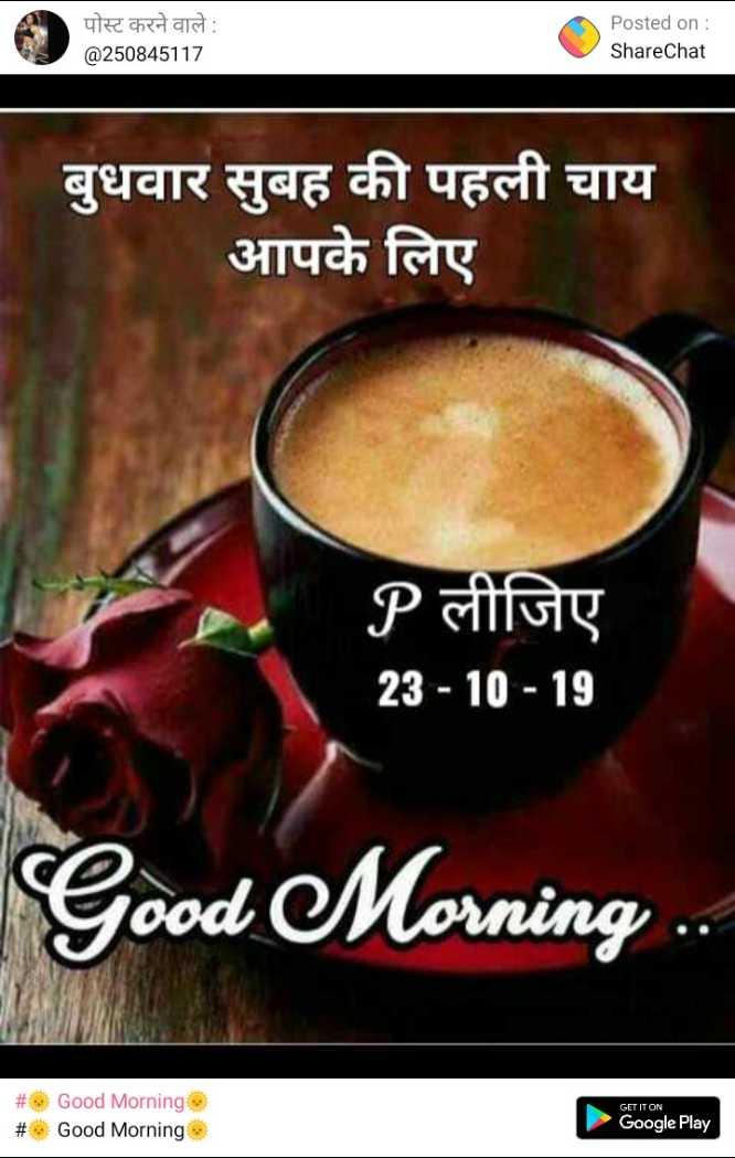 🎂 हैप्पी बर्थडे मलाइका अरोड़ा - पोस्ट करने वाले : @ 250845117 Posted on : ShareChat बुधवार सुबह की पहली चाय आपके लिए P लीजिए 23 - 10 - 19 Good Morning . . # # Good Morning Good Morning GET IT ON Google Play - ShareChat