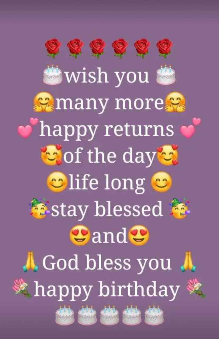 🎂 हैप्पी बर्थडे मोहनीश बहल - wish you many more happy returns of the day life long stay blessed and J . God bless you . . happy birthday - ShareChat