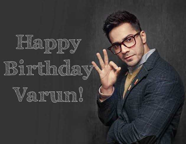 🎂 हैप्पी बर्थडे वरुण धवन 🎊 - Happy Birthday Varun ! - ShareChat