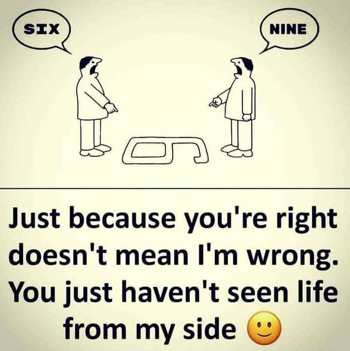 🎂 हैप्पी बर्थडे सोनू सूद - SIX NINE Just because you ' re right doesn ' t mean I ' m wrong . You just haven ' t seen life from my side - ShareChat