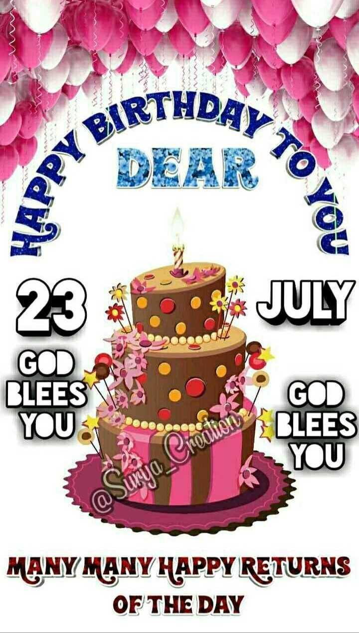 🎂🎤 हैप्पी बर्थडे हिमेश रेशमिया - BIRTHDAY DEAR TO YOU 23 • S4 JULY YOU PROBLEES MANY MANY HAPPY RETURNS OF THE DAY - ShareChat