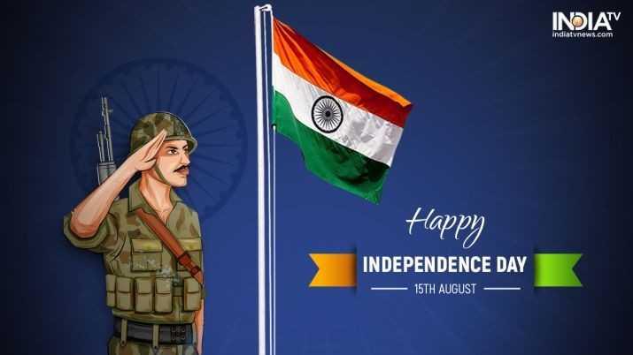 🕊हैप्पी स्वतंत्रता दिवस - INDIATV indiatvnews . com Happy INDEPENDENCE DAY - 15TH AUGUST - ShareChat